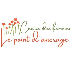 Logo centre des femmes le point d ancrage